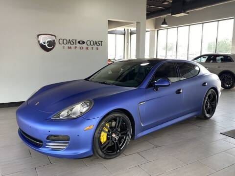2011 Porsche Panamera for sale at Coast to Coast Imports in Fishers IN