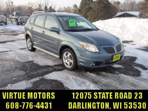2008 Pontiac Vibe for sale at Virtue Motors in Darlington WI