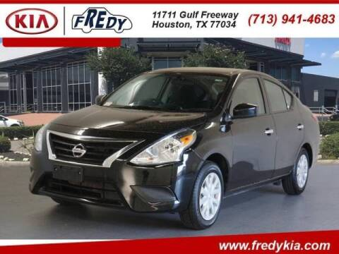 2019 Nissan Versa for sale at FREDYS CARS FOR LESS in Houston TX