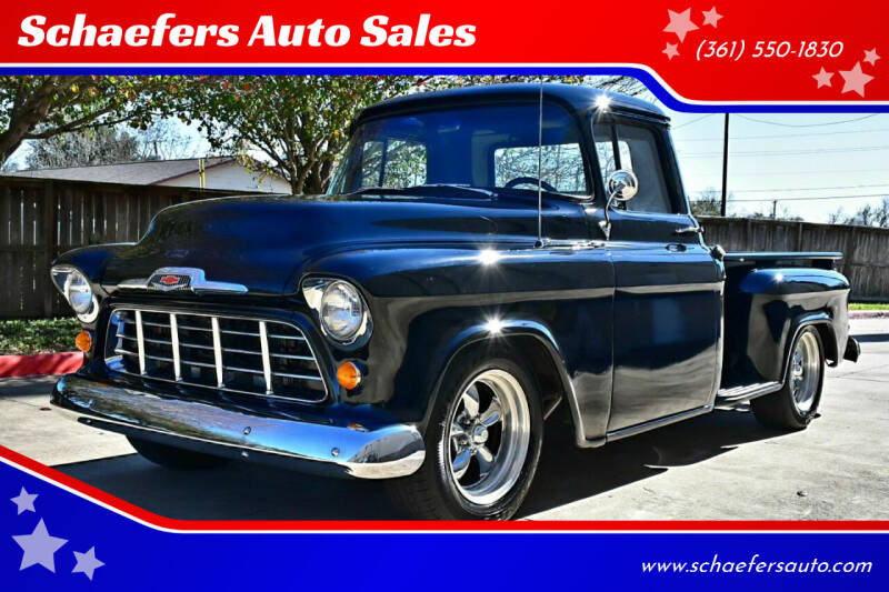 1956 Chevrolet C/K 10 Series for sale at Schaefers Auto Sales in Victoria TX