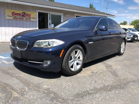 2013 BMW 5 Series for sale at Cars 2 Go in Clovis CA