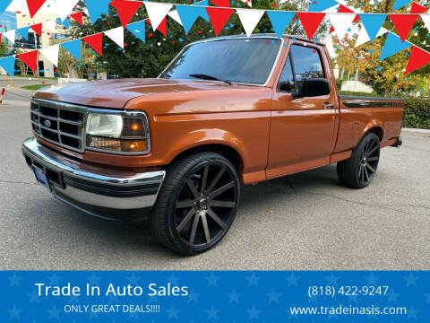 1994 Ford F-150 for sale at Trade In Auto Sales in Van Nuys CA
