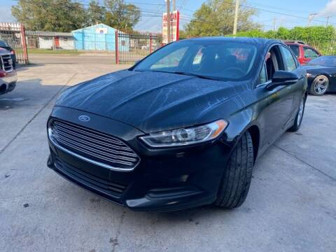 2014 Ford Fusion for sale at Sam's Auto Sales in Houston TX
