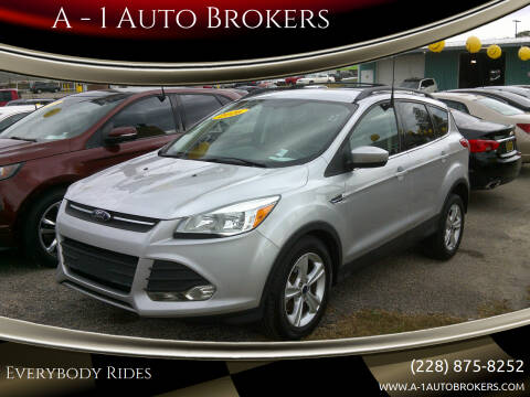 2016 Ford Escape for sale at A - 1 Auto Brokers in Ocean Springs MS