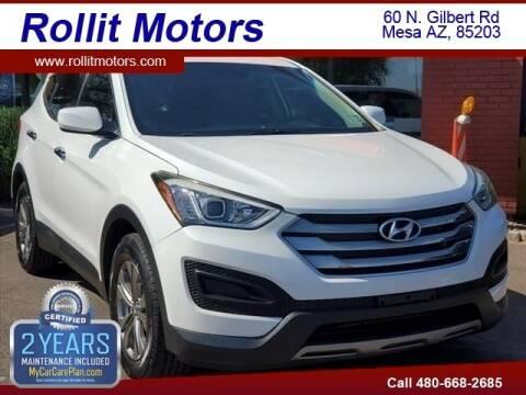 2016 Hyundai Santa Fe Sport for sale at Rollit Motors in Mesa AZ