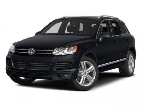 2014 Volkswagen Touareg for sale at J T Auto Group in Sanford NC
