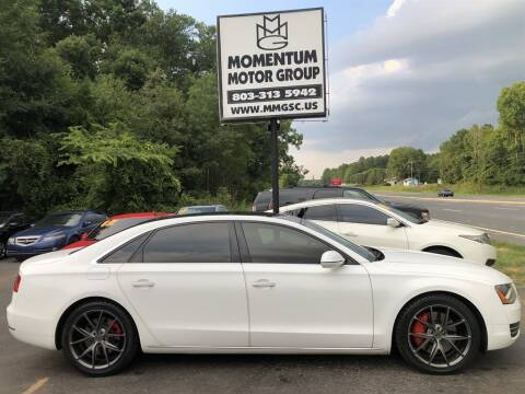 2012 Audi A8 L for sale at Momentum Motor Group in Lancaster SC
