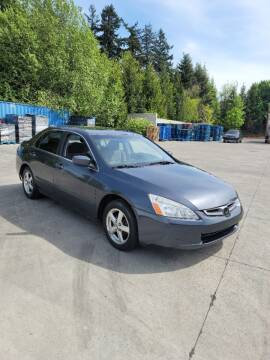 2004 Honda Accord for sale at RICKIES AUTO, LLC. in Portland OR
