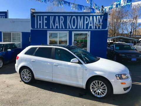 2007 Audi A3 for sale at The Kar Kompany Inc. in Denver CO