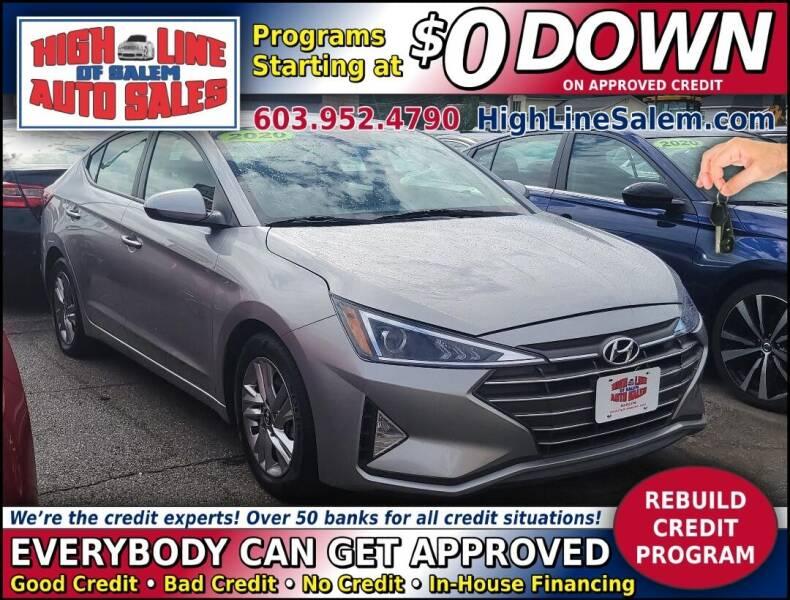 2020 Hyundai Elantra for sale at High Line Auto Sales of Salem in Salem NH