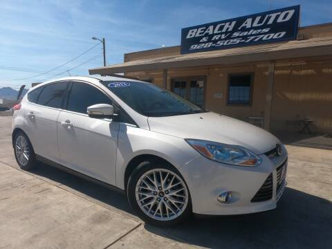 2012 Ford Focus for sale at Beach Auto and RV Sales in Lake Havasu City AZ