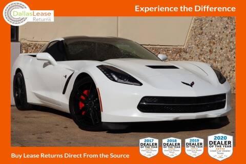 2015 Chevrolet Corvette for sale at Dallas Auto Finance in Dallas TX