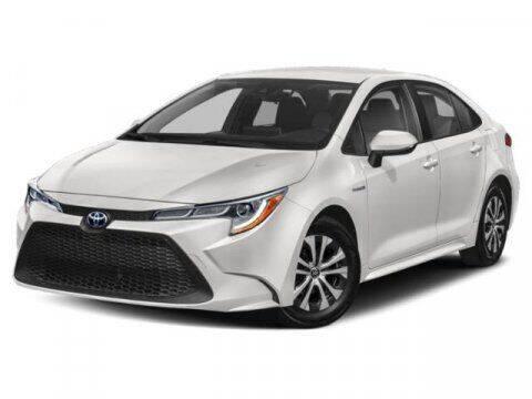 2021 Toyota Corolla Hybrid for sale at BEAMAN TOYOTA in Nashville TN