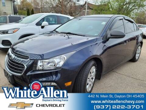 2015 Chevrolet Cruze for sale at WHITE-ALLEN CHEVROLET in Dayton OH