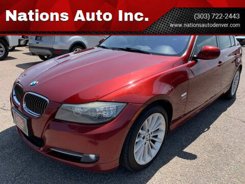 2011 BMW 3 Series for sale at Nations Auto Inc. in Denver CO