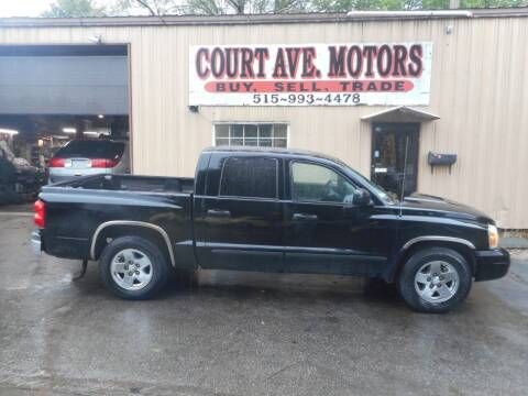 2006 Dodge Dakota for sale at Court Avenue Motors in Adel IA