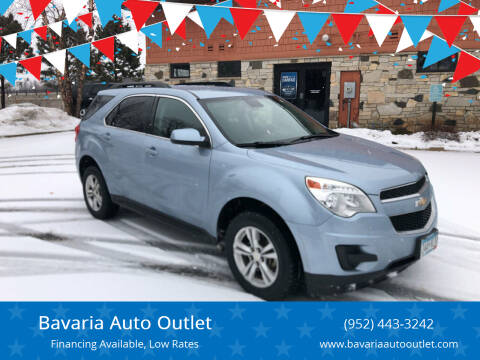 2014 Chevrolet Equinox for sale at Bavaria Auto Outlet in Victoria MN
