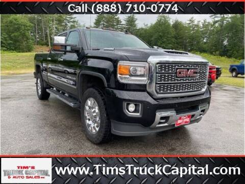 2019 GMC Sierra 2500HD for sale at TTC AUTO OUTLET/TIM'S TRUCK CAPITAL & AUTO SALES INC ANNEX in Epsom NH