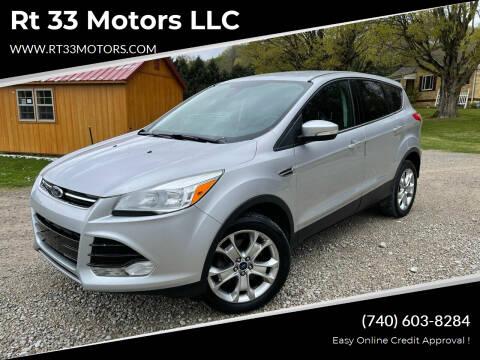 2013 Ford Escape for sale at Rt 33 Motors LLC in Rockbridge OH
