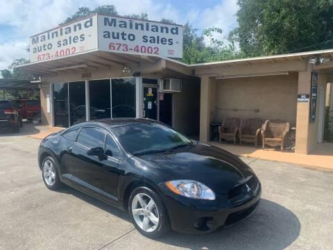 2007 Mitsubishi Eclipse for sale at Mainland Auto Sales Inc in Daytona Beach FL