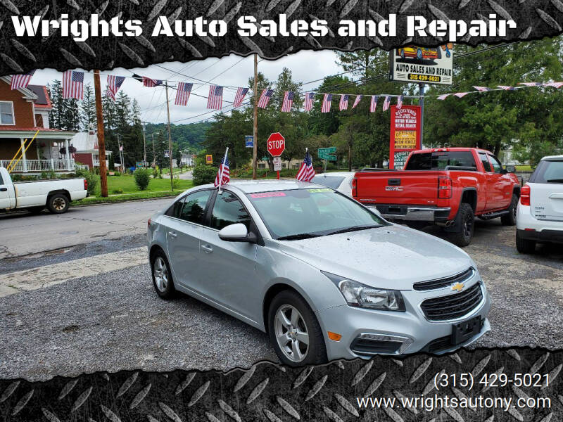 2016 Chevrolet Cruze Limited for sale at Wrights Auto Sales and Repair in Dolgeville NY