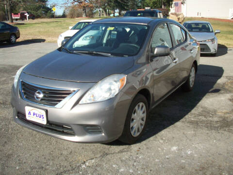 2013 Nissan Versa for sale at A-Plus Motors in Alton ME