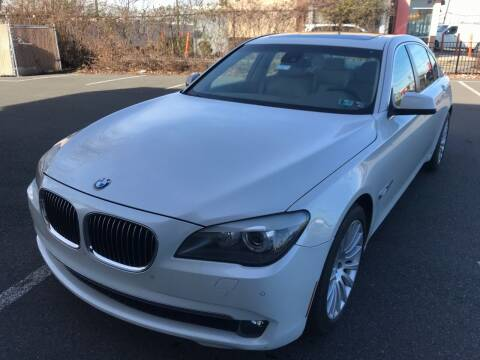 2010 BMW 7 Series for sale at MAGIC AUTO SALES in Little Ferry NJ