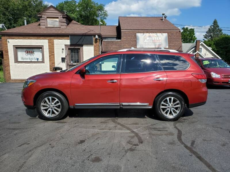 2013 Nissan Pathfinder for sale at Master Auto Sales in Youngstown OH