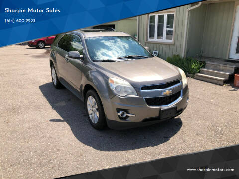 2010 Chevrolet Equinox for sale at Sharpin Motor Sales in Columbus OH