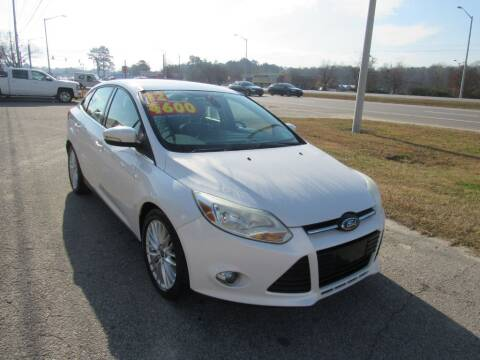 2012 Ford Focus for sale at Auto Bella Inc. in Clayton NC