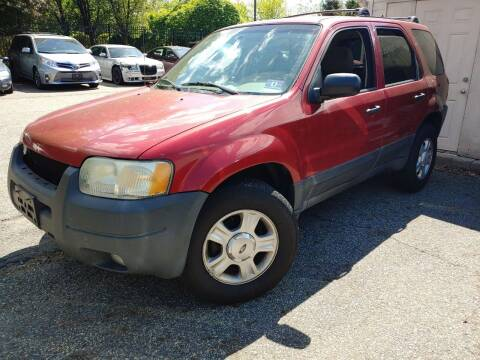 2003 Ford Escape for sale at CRS 1 LLC in Lakewood NJ