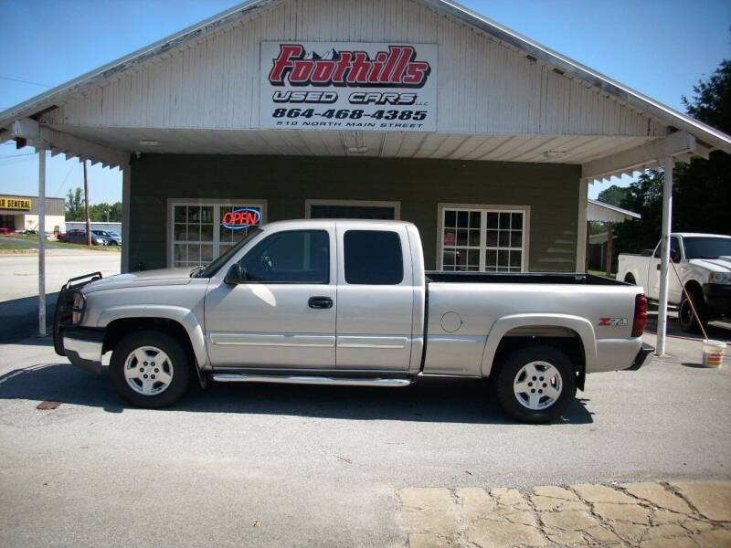 2005 Chevrolet Silverado 1500 for sale at Foothills Used Cars LLC in Campobello SC
