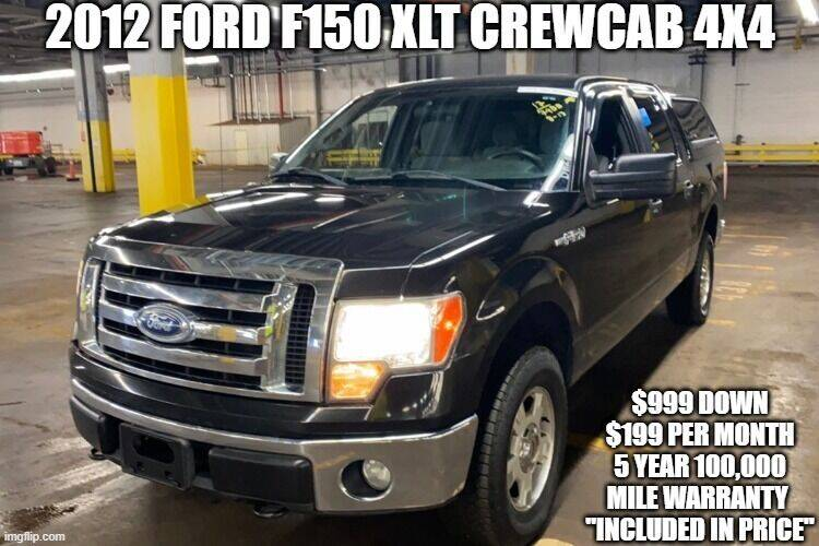 2012 Ford F-150 for sale at D&D Auto Sales, LLC in Rowley MA