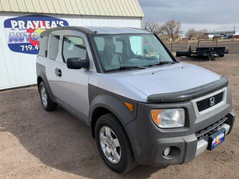 2004 Honda Element for sale at Praylea's Auto Sales in Peyton CO
