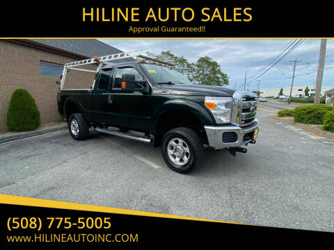 2014 Ford F-250 Super Duty for sale at HILINE AUTO SALES in Hyannis MA