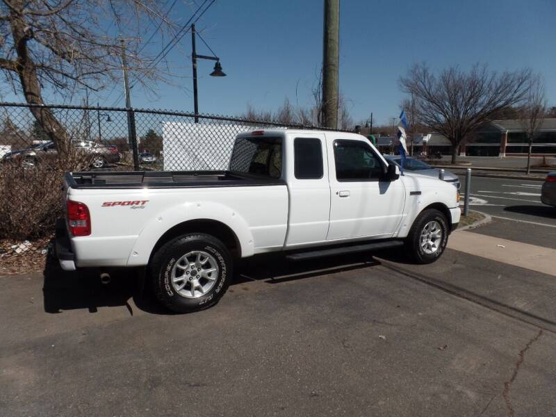 2008 Ford Ranger for sale at CAR CORNER RETAIL SALES in Manchester CT
