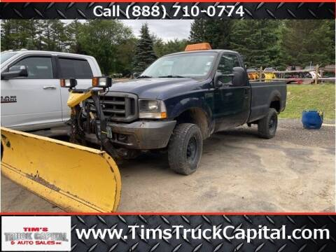 2003 Ford F-350 Super Duty for sale at TTC AUTO OUTLET/TIM'S TRUCK CAPITAL & AUTO SALES INC ANNEX in Epsom NH