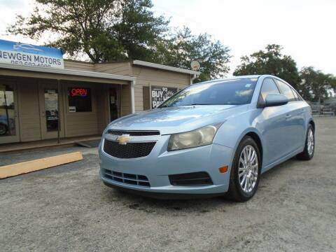 2012 Chevrolet Cruze for sale at New Gen Motors in Lakeland FL