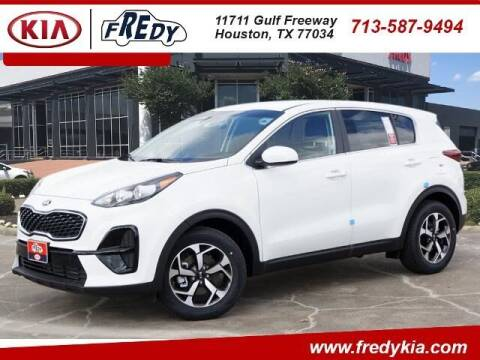 2021 Kia Sportage for sale at FREDY KIA USED CARS in Houston TX