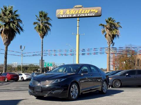 2014 Lincoln MKZ for sale at A MOTORS SALES AND FINANCE - 6226 San Pedro Lot in San Antonio TX