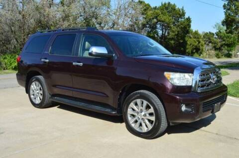 2014 Toyota Sequoia for sale at Luxury Motorsports in Austin TX
