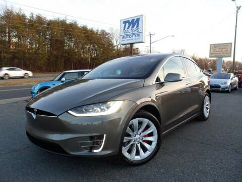 2016 Tesla Model X for sale at AUTOTYM INC in Fredericksburg VA
