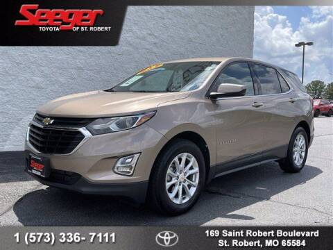 2018 Chevrolet Equinox for sale at SEEGER TOYOTA OF ST ROBERT in Saint Robert MO