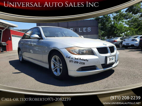 2008 BMW 3 Series for sale at Universal Auto Sales Inc in Salem OR