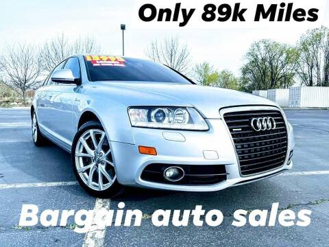 2011 Audi A6 for sale at Bargain Auto Sales LLC in Garden City ID