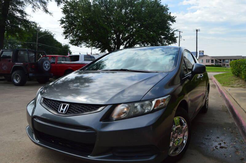 2013 Honda Civic for sale at E-Auto Groups in Dallas TX