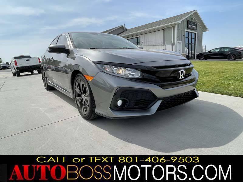 2019 Honda Civic for sale at Auto Boss in Woods Cross UT