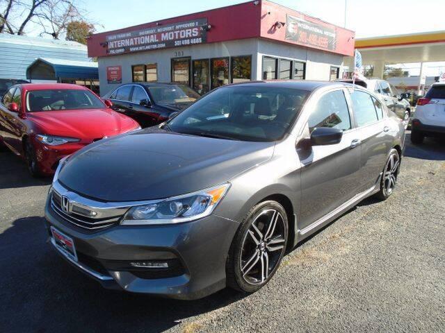 2016 Honda Accord for sale at International Motors in Laurel MD