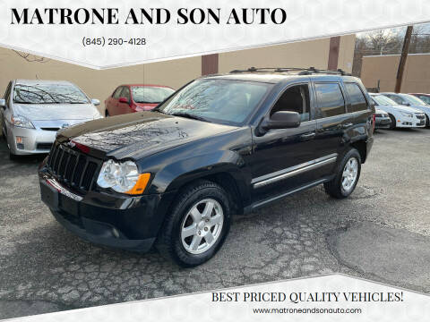 2010 Jeep Grand Cherokee for sale at Matrone and Son Auto in Tallman NY