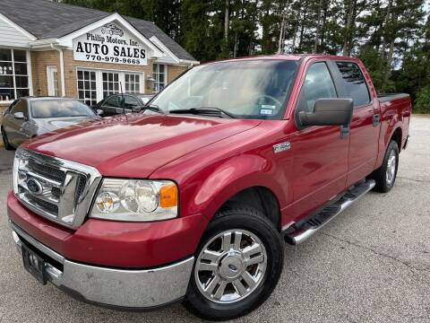 2008 Ford F-150 for sale at Philip Motors Inc in Snellville GA